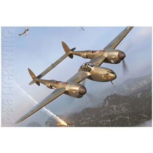 Lockheed P38 Lightening Aircraft