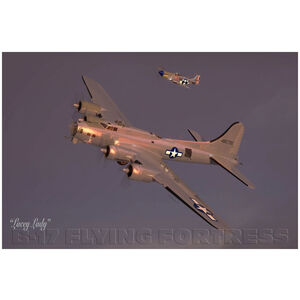 Lacey Lady B-17G Flying Fortress Bomber