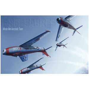 "F-86 Sabre Jets ""Minute Men"""