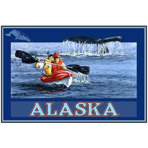 Alaska Kayak Whale Tail