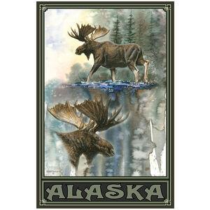 Alaska High Stepping Moose