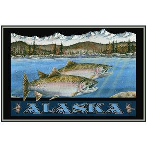 Alaska Taking Care Of Business Salmon