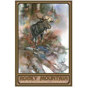 Rocky Mountain National Park Autumn Splendor Moose