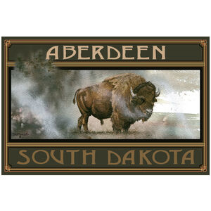 Aberdeen South Dakota Bison King