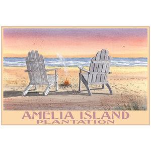 Amelia Island Adirondack Chairs Beach