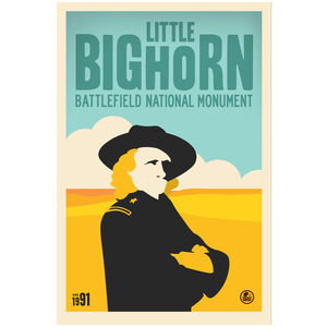 Little Bighorn Battlefield National Monument, Custer