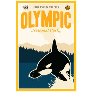 Olympic National Park, Washington Orca