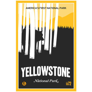 "Yellowstone Park, ""America's First National Park"""