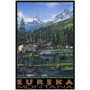 Eureka Montana Elk Challenge Mountains