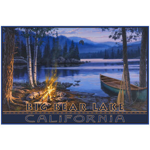 Big Bear Lake Canoe Camp