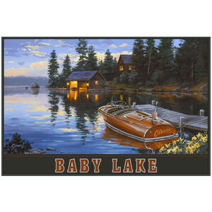 Baby Lake Sunset Cabin