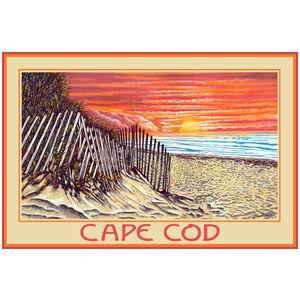 Cape Cod Sand Dune Sunrise