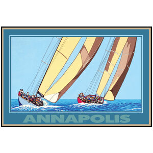 Annapolis Two Sailboats