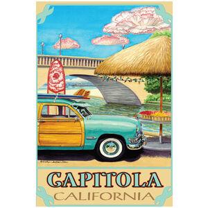 Capitola California Turquoise Woody