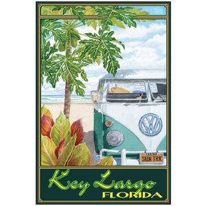 Key Largo Florida Truck Hula