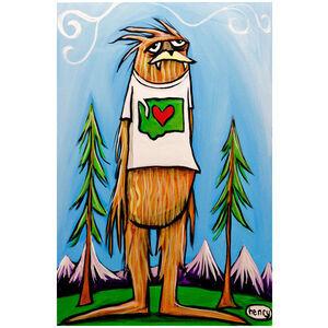 Sasquatch Love Washington State