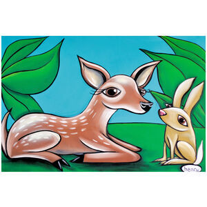 Fawn and Bunny