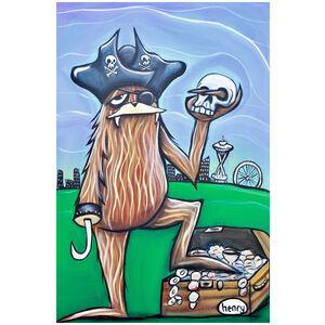 Sasquatch Pirate in Seattle