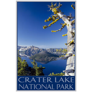 Crater Lake National Park Old Sentinel