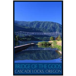 Bridge of the Gods over the Columbia River