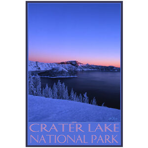 Crater Lake Alpine Glow