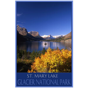 Glacier National Park St. Mary's Lake