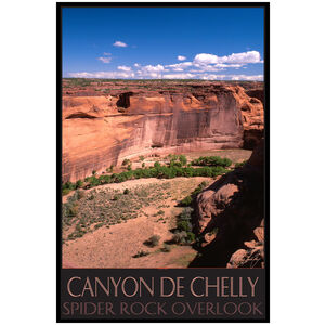 Canyon De Chelly Spider Rock Overlook