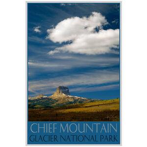 Glacier National Park Three Chief Peaks