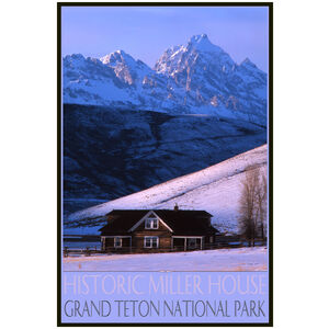 Historic Miller House Grand Teton National Park
