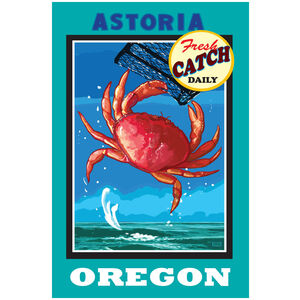 Astoria Oregon Dungeness Crab