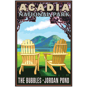 Acadia National Park Adirondack Chairs