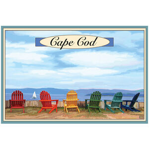 Cape Cod Adirondack Chairs Boat