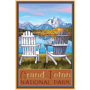 Grand Teton National Park Adirondack Chairs
