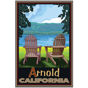 Arnold California Adirondack Chairs Lake
