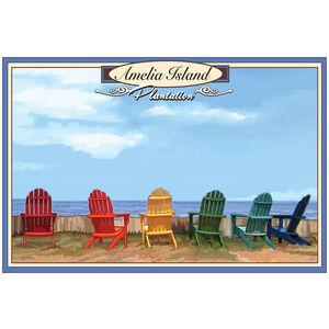 Ameila Island Plantation, Florida Adirondack Chairs