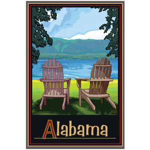 Alabama Adirondack Chairs Lake