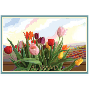 Alabama Tulip Field
