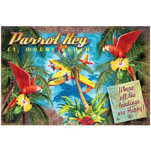 All Landings are Happy Landings Parrot Key Florida