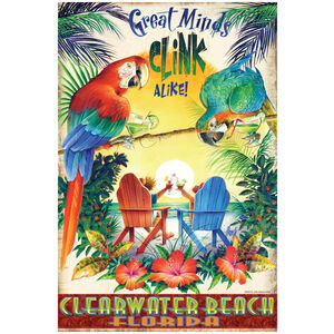 Great Minds Clink Alike Clearwater Beach Florida