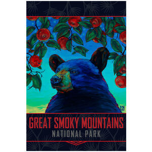 Great Smoky Mountains Apple Black Bear