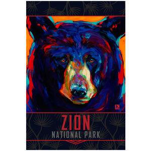 Zion National Park Black Bear Gaze