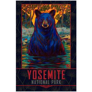 Yosemite Bathing Black Bear