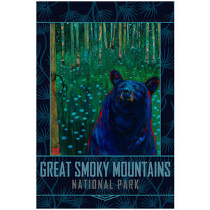 Great Smoky Mountains Black Bear Reverie