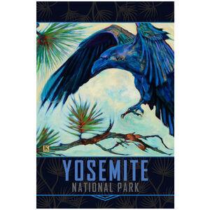 Yosemite Alighting Raven