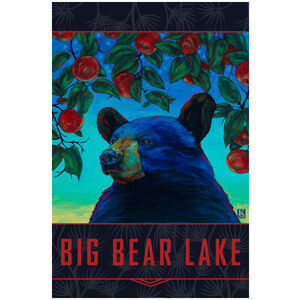 Apple Black Bear Big Bear Lake