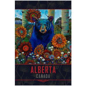 Alberta Canada Spring Bear