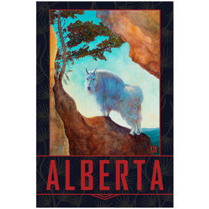Alberta Mountain Goat