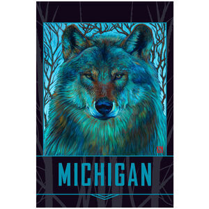 Michigan Winter Wolf