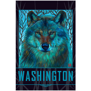 Washington Winter Wolf
