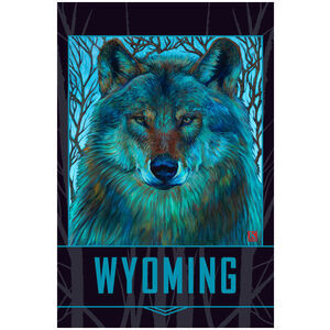 Wyoming Winter Wolf